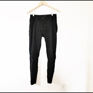 Harlow Black High Waisted Distressed Skinny Jeans